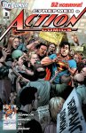 Обложка комикса Супермен в Action Comics №3