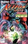 Обложка комикса Супермен в Action Comics №6