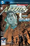 Обложка комикса Супермен в Action Comics №7