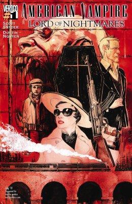Серия комиксов Американский Вампир: Лорд Кошмаров