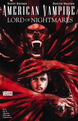 Серия комиксов Американский Вампир: Лорд Кошмаров №2