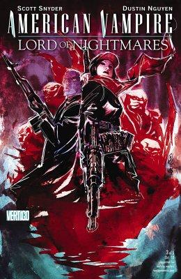 Серия комиксов Американский Вампир: Лорд Кошмаров №3