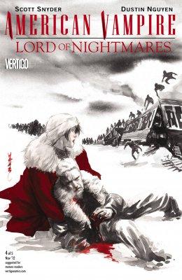 Серия комиксов Американский Вампир: Лорд Кошмаров №4