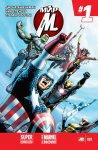 Обложка комикса Мир Мстителей №1