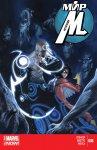 Обложка комикса Мир Мстителей №8