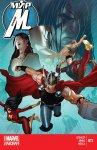 Обложка комикса Мир Мстителей №11