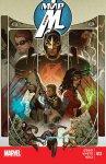 Обложка комикса Мир Мстителей №12