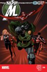 Обложка комикса Мир Мстителей №16