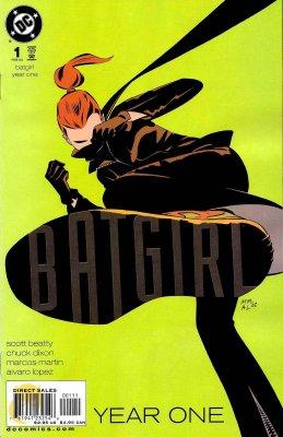 Серия комиксов Бэтгёрл: Год Первый
