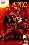 Обложка комикса Темные Мстители: Арес №3