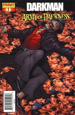 Серия комиксов Человек тьмы против Армии Тьмы