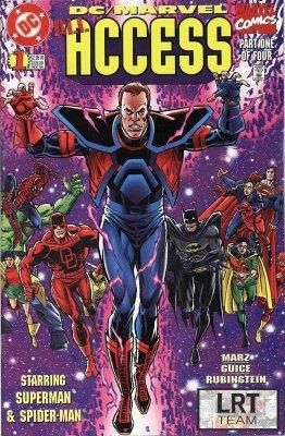 Серия комиксов DC/Marvel: Эксесс