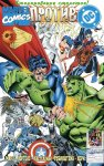 Обложка комикса DC против Marvel №3