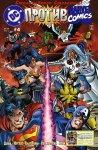 Обложка комикса DC против Marvel №4