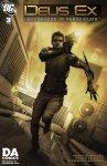 Обложка комикса Deus Ex №3