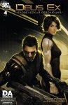 Обложка комикса Deus Ex №4