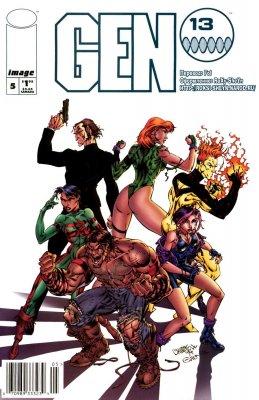 Серия комиксов Ген 13 №5