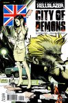 Обложка комикса Посланник Ада: Город Демонов №2