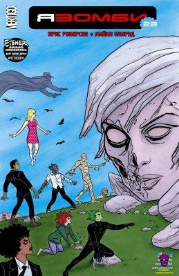 Серия комиксов Я Зомби №28