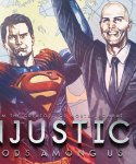Обложка комикса Несправедливость: Боги Среди Нас №22