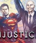 Обложка комикса Несправедливость: Боги Среди Нас №23