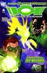 Обложка комикса Ион: Хранитель Вселенной №4
