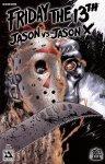 Обложка комикса Пятница 13: Джейсон против Джейсона Икс №2