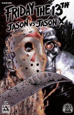 Серия комиксов Пятница 13: Джейсон против Джейсона Икс №2
