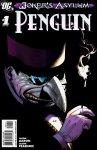 Обложка комикса Психушка Джокера: Пингвин