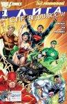 Обложка комикса Лига Справедливости №1