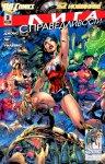 Обложка комикса Лига Справедливости №3