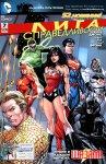 Обложка комикса Лига Справедливости №7
