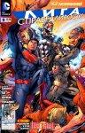 Обложка комикса Лига Справедливости №9