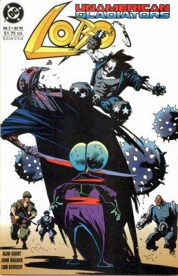 Серия комиксов Лобо: Неамериканские Гладиаторы №2