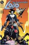 Обложка комикса Лобо: Неамериканские Гладиаторы №3