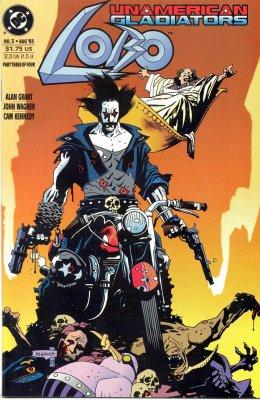 Серия комиксов Лобо: Неамериканские Гладиаторы №3