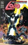 Обложка комикса Лобо: Неамериканские Гладиаторы №4