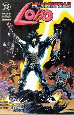 Серия комиксов Лобо: Неамериканские Гладиаторы №4