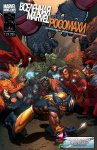Обложка комикса Вселенная Marvel против Росомахи №1