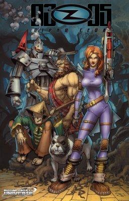 Серия комиксов OZF5: Отряд Гейл