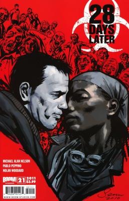 Серия комиксов 28 дней спустя №21