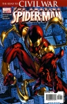 Обложка комикса Удивительный Человек-паук №529