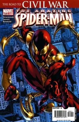 Серия комиксов Удивительный Человек-паук №529