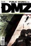Обложка комикса ДМЗ Демилитаризованная Зона №17