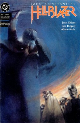 Серия комиксов Джон Константин: Посланник ада №9