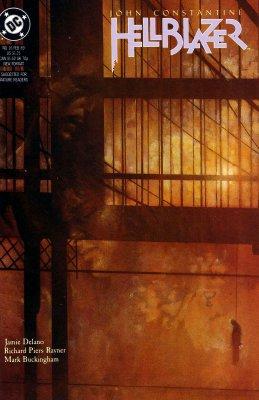 Серия комиксов Джон Константин: Посланник ада №16