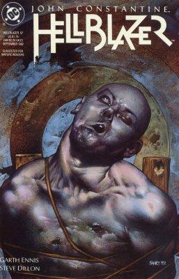 Серия комиксов Джон Константин: Посланник ада №57
