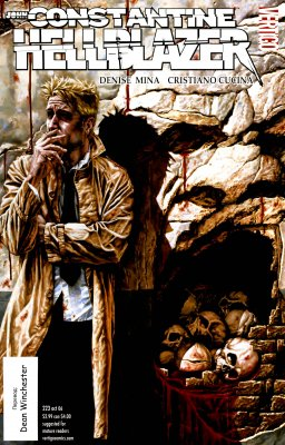 Серия комиксов Джон Константин: Посланник ада №223