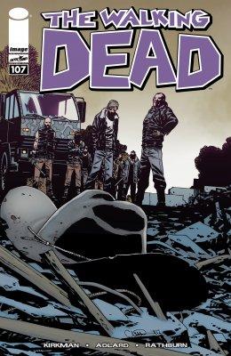 Серия комиксов Ходячие мертвецы №107