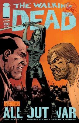 Серия комиксов Ходячие мертвецы №120